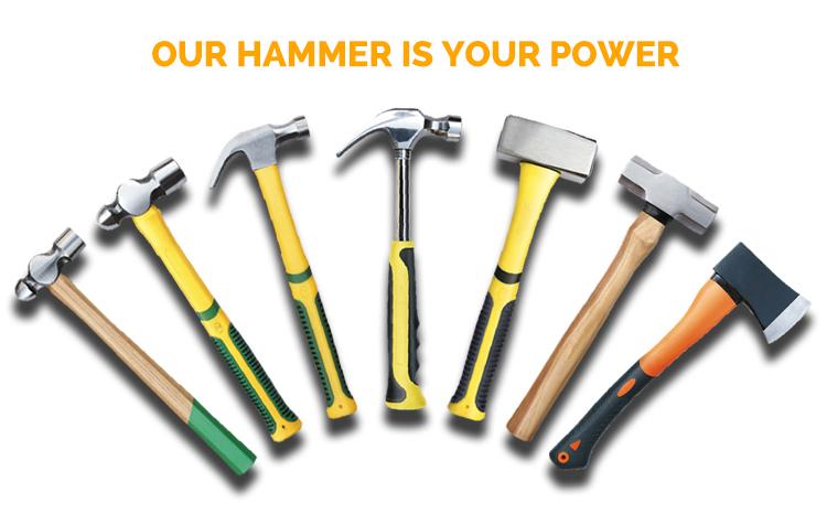 fine polished claw hammer