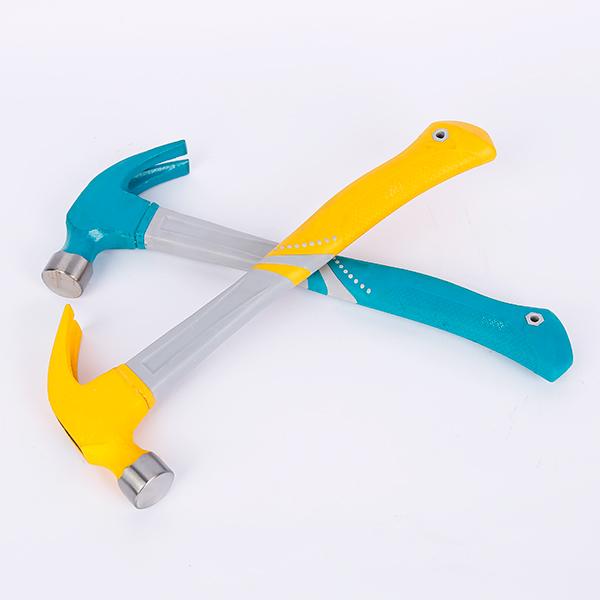 Fibreglass handle claw hammer