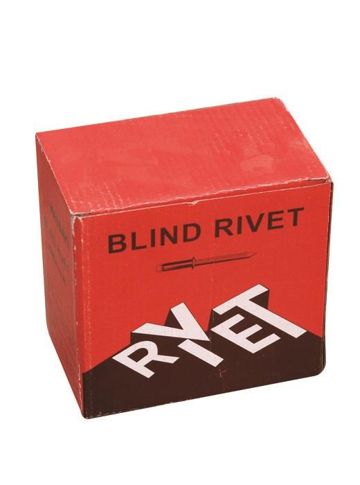 large flange blind rivets