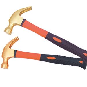 Anti Sparking Cooper Brass Claw Hammer
