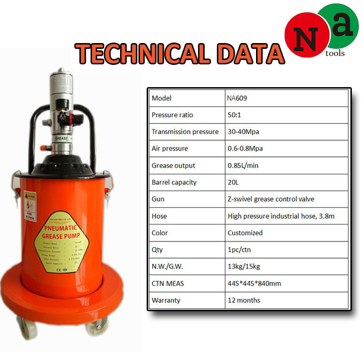 air opreated grease pump