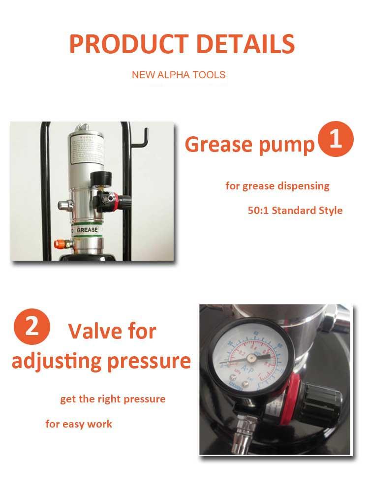 higher pressure grease pump