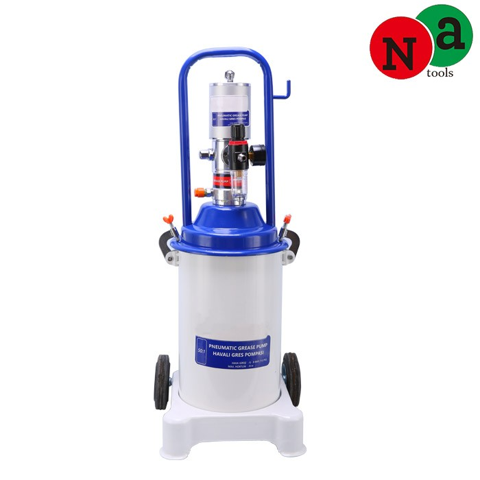 12L Air Operated Bucket Auto Grease Pump