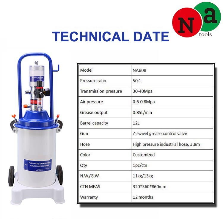 12L Air Operated Bucket Auto Grease Pump Manufacturers, 12L Air Operated Bucket Auto Grease Pump Factory, Supply 12L Air Operated Bucket Auto Grease Pump