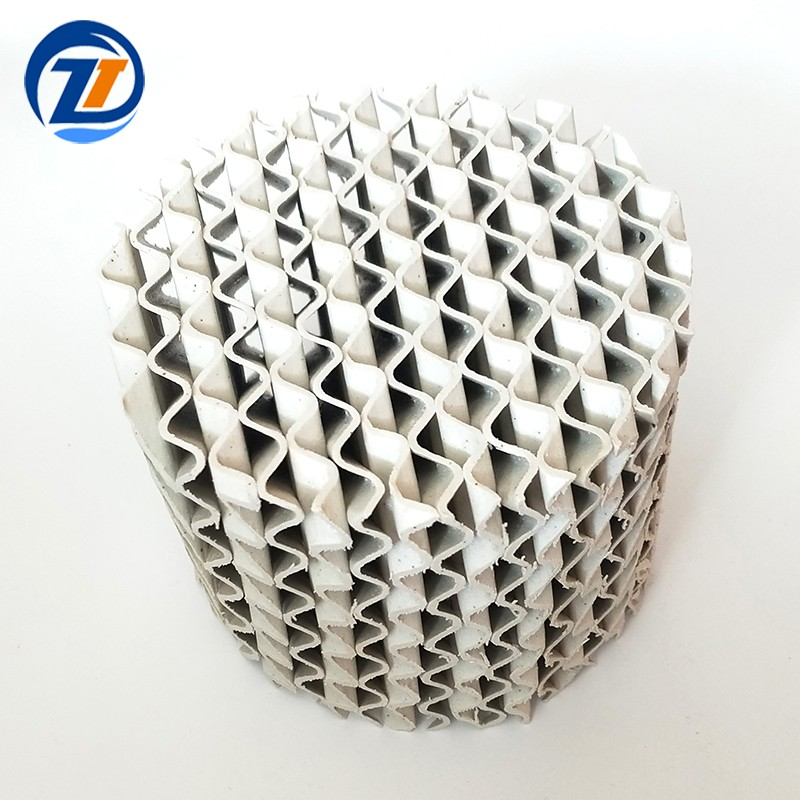 Ceramic Structured Corrugated Packing For Chemical Tower