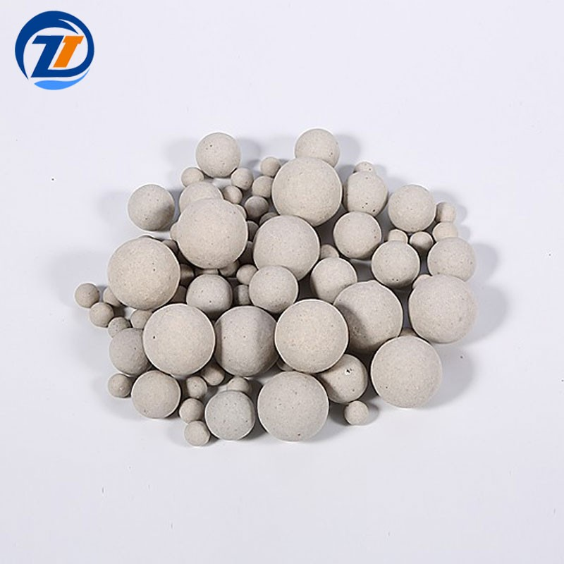 17% Inert Alumina Ceramic Ball Catalyst Support Media