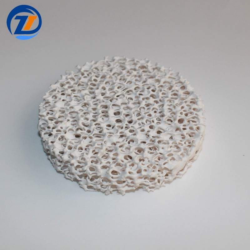 Alumina Ceramic Foam Filter Casting Filtration