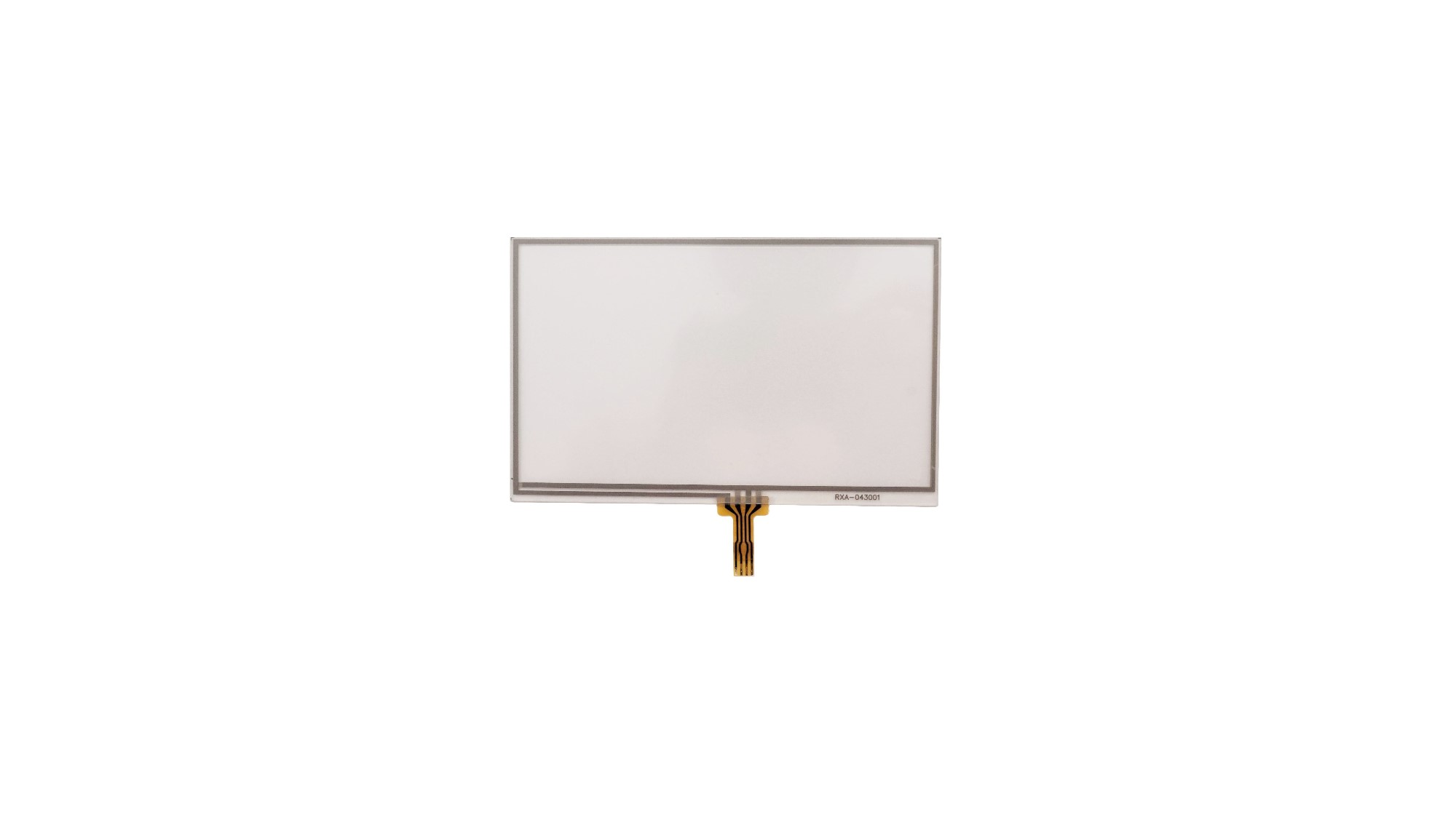 Medical Devices 4.3 Inch Resistive Touch Panel