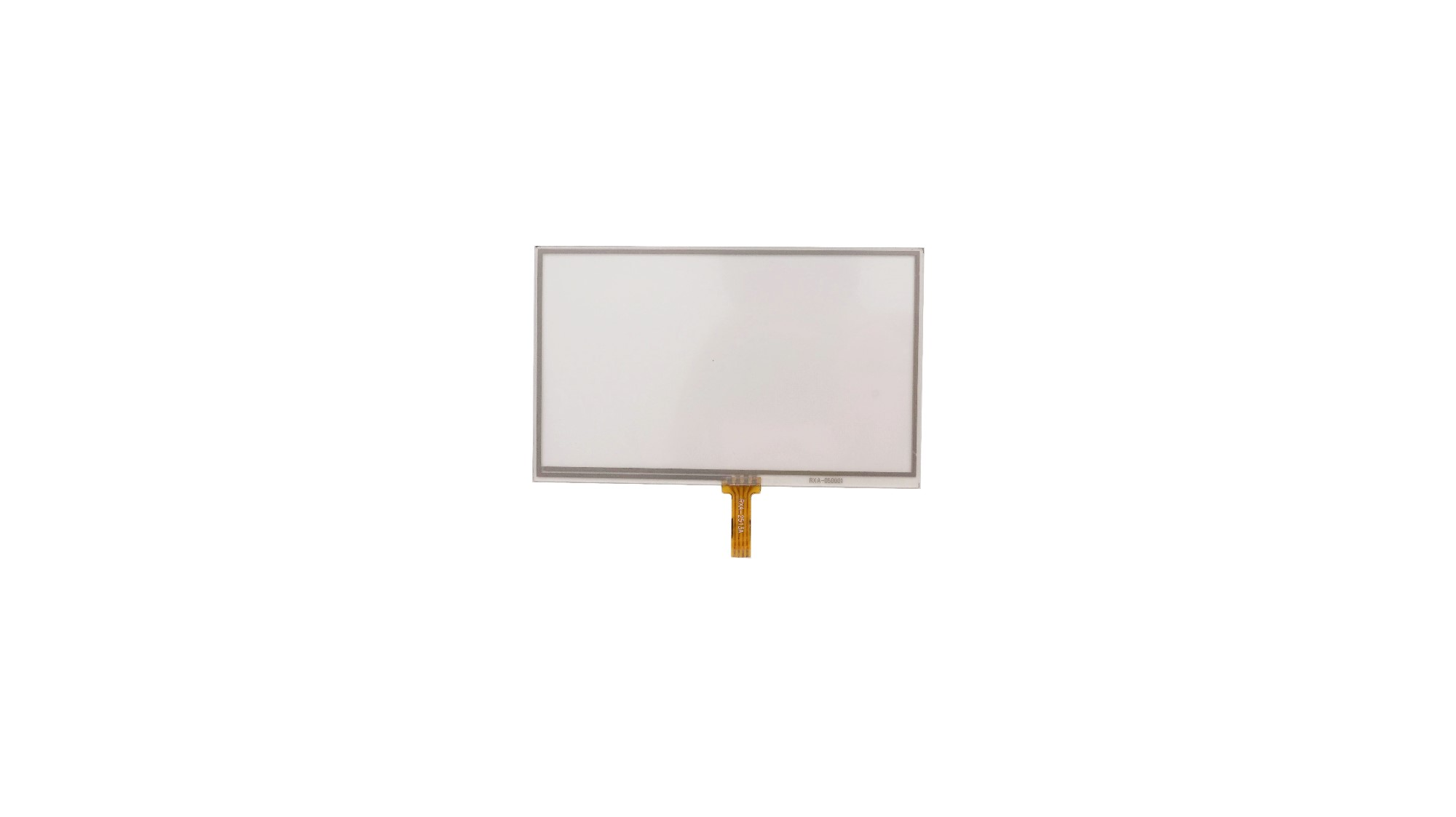 5.0 Inch 4wire Rtp Overlay Glass Touch Screen