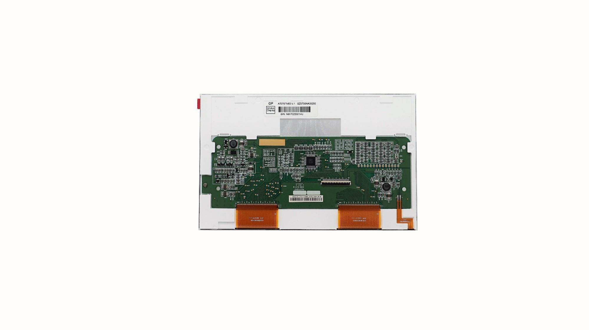 Custom China Innolux Original 7.0 Inch TFT Lcd Display 800x480 Tn83, Innolux Original 7.0 Inch TFT Lcd Display 800x480 Tn83 Factory, Innolux Original 7.0 Inch TFT Lcd Display 800x480 Tn83 OEM