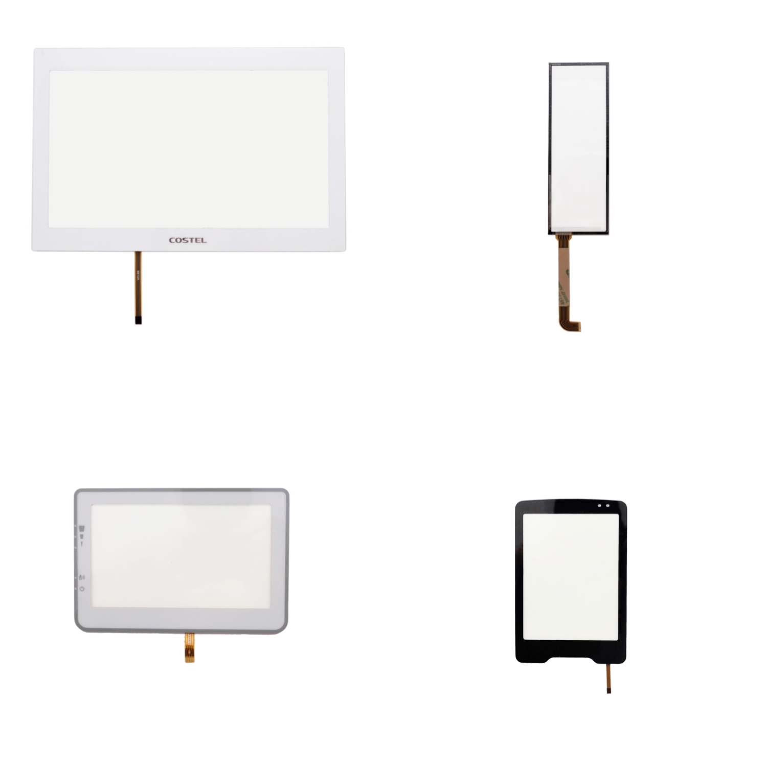 4 wire resistive touch panel