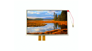 Original TFT 10,2 tums 800x480 LCD-skärm Rgb-gränssnitt