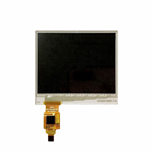 shaped capacitive touch screen