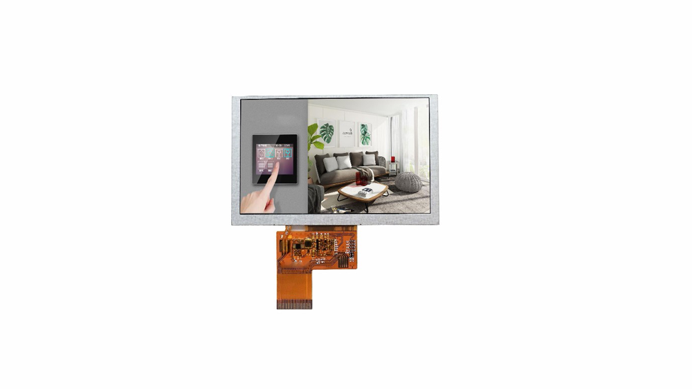 5.0 Inch 800x480 Color Lcd Display Module