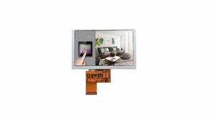 5,0 tums 800x480 färg LCD-skärmmodul