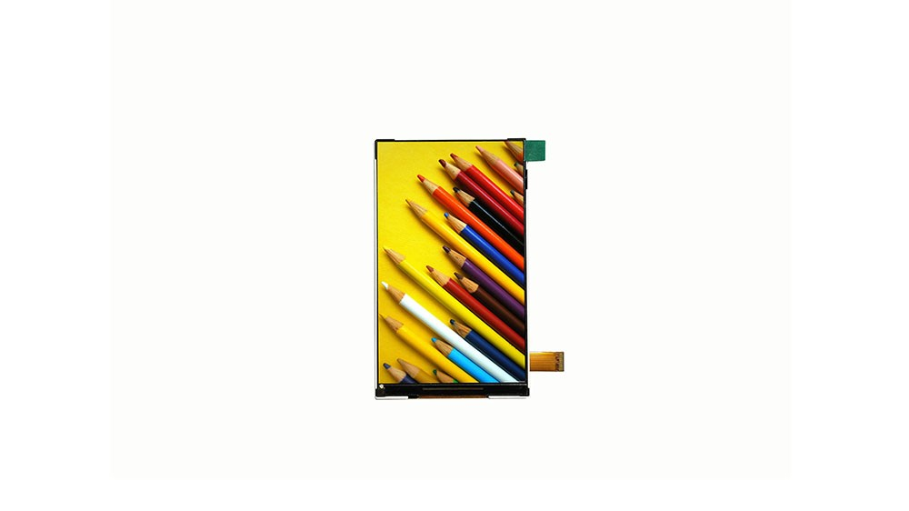 Industrial used 4.3 inch 480x800 vertical TFT LCD display IPS