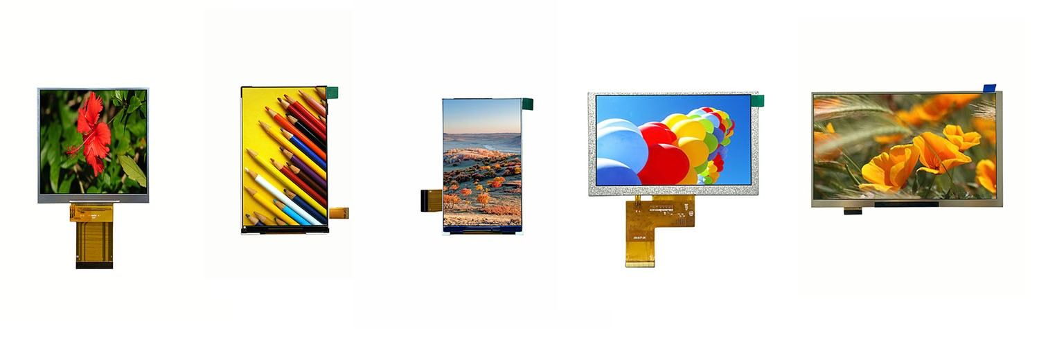 Hot-sell 4.0 5.0 4.3 7.0 inch TFT IPS LCD Display module with Custom touch screens