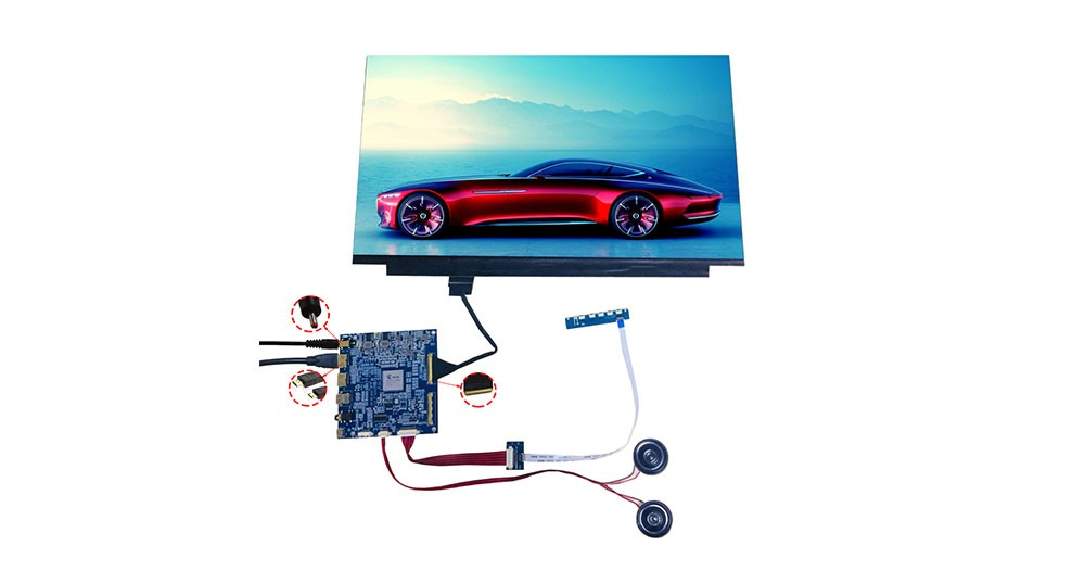 HDMI to EDP converter board for 13.3 inch 15.6 inch LCD display
