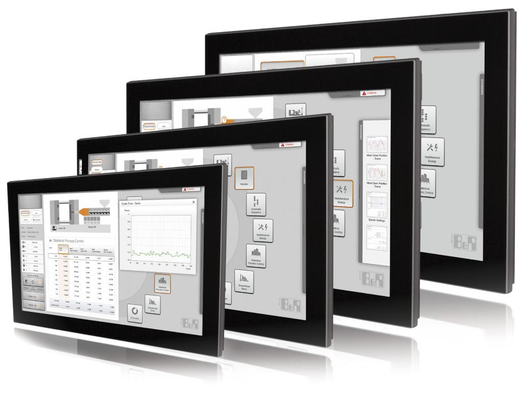 industrieller Touchscreen