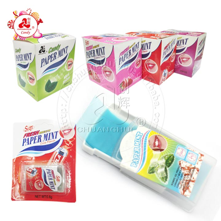 Papier bonbon Breath Strips menthe