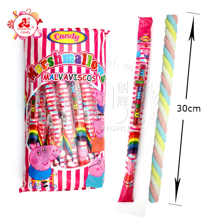 30cm Long Twist Marshmallow Stick