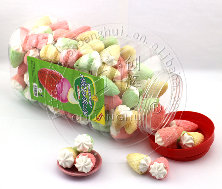 3.5g Strawberry Cone Marshmallow Manufacturers, 3.5g Strawberry Cone Marshmallow Factory, Supply 3.5g Strawberry Cone Marshmallow