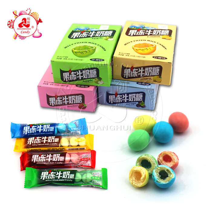 15g Crispy Jam Filled Soft Candy