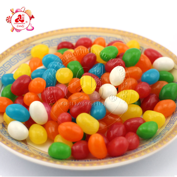 Hot Sale Low Price Halal Gummy Jelly Bean Soft Candy In Bulk