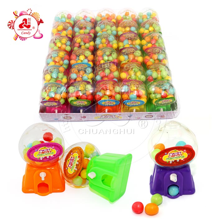 Dispenser toy candy Vending machine with Puffing candy ball