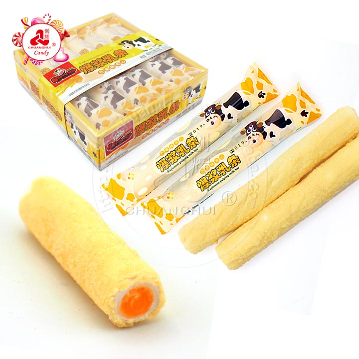 2019 Milk Bar mango Jam filled strip shape Marshmallow