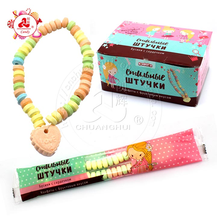 25g Necklace Pressed Candy For Girl