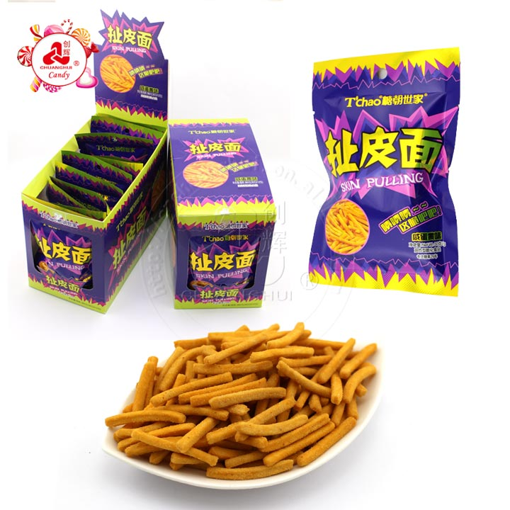 instant 30g Fried puffed food crispy noodle stick