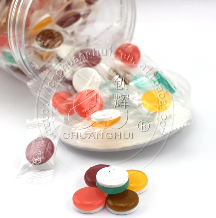 2 In 1 Sugar Free Pressed Candy with Hard Candy Manufacturers, 2 In 1 Sugar Free Pressed Candy with Hard Candy Factory, Supply 2 In 1 Sugar Free Pressed Candy with Hard Candy