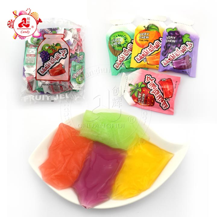 15g Mini bags jelly Candy Sucking Jelly Good Tasty