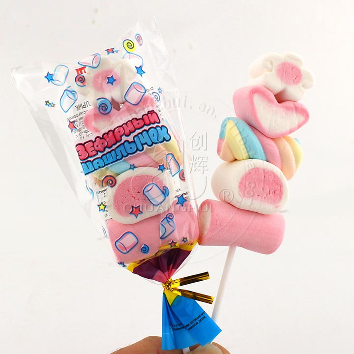 Five kinds of marshmallow lollipop BBQ Sweet Soft Candy Manufacturers, Five kinds of marshmallow lollipop BBQ Sweet Soft Candy Factory, Supply Five kinds of marshmallow lollipop BBQ Sweet Soft Candy