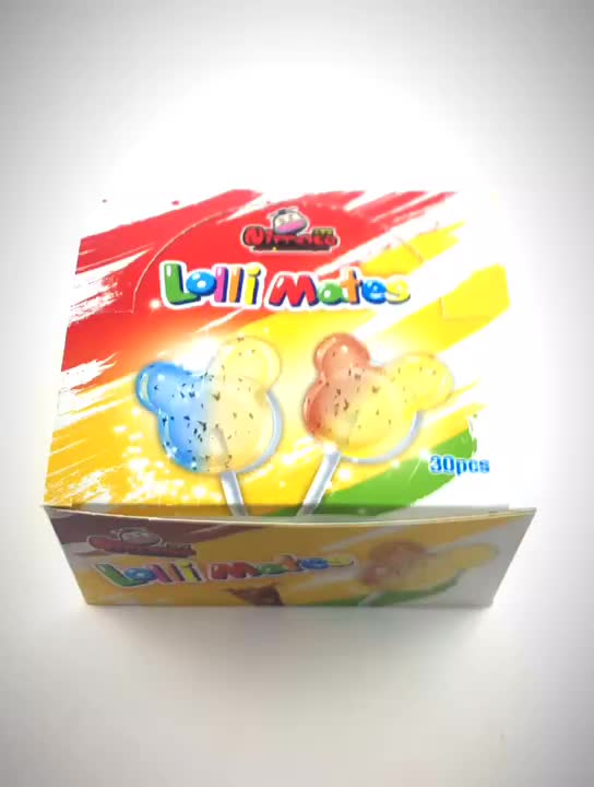 2 in 1 double flavors double colors mickey Lollipop candy Manufacturers, 2 in 1 double flavors double colors mickey Lollipop candy Factory, Supply 2 in 1 double flavors double colors mickey Lollipop candy