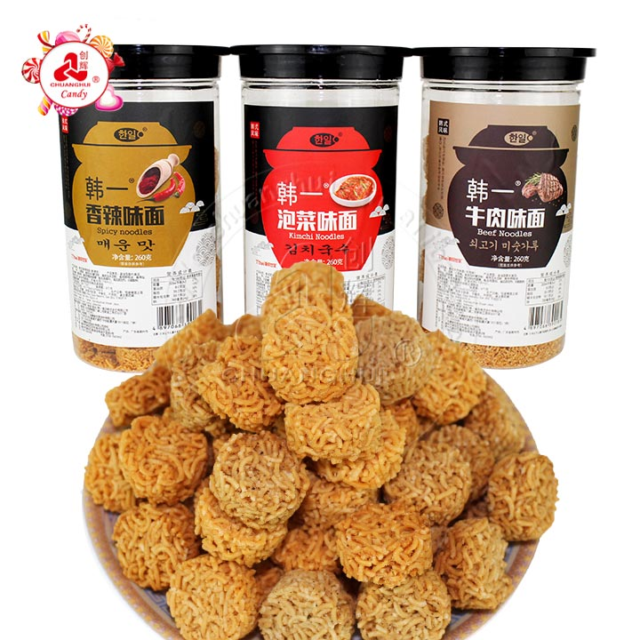 Instant Noodle Snacks Fried Crispy Food