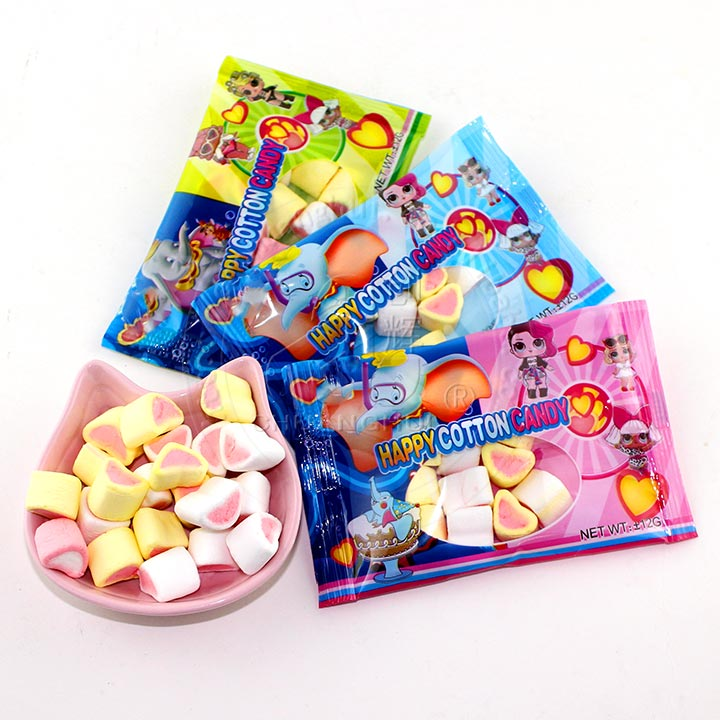 8g strawberry happy catton Marshmallow candy in bag Manufacturers, 8g strawberry happy catton Marshmallow candy in bag Factory, Supply 8g strawberry happy catton Marshmallow candy in bag