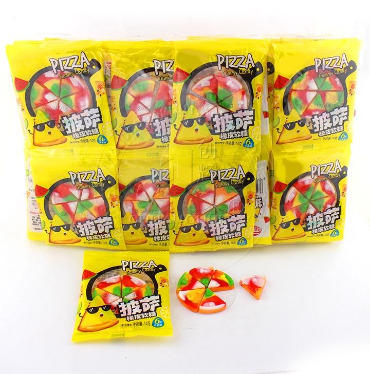 Halal Fruit flavor Pizza Gummy Candy soft candy Manufacturers, Halal Fruit flavor Pizza Gummy Candy soft candy Factory, Supply Halal Fruit flavor Pizza Gummy Candy soft candy