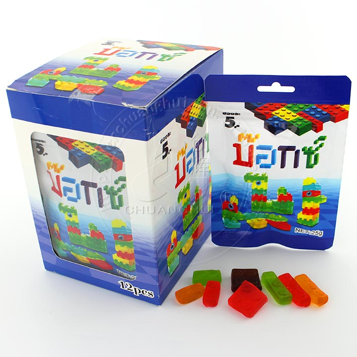 halal fruit flavor jelly candy Building Blocks 4D gummy candy Building Blocks soft candy Manufacturers, halal fruit flavor jelly candy Building Blocks 4D gummy candy Building Blocks soft candy Factory, Supply halal fruit flavor jelly candy Building Blocks 4D gummy candy Building Blocks soft candy