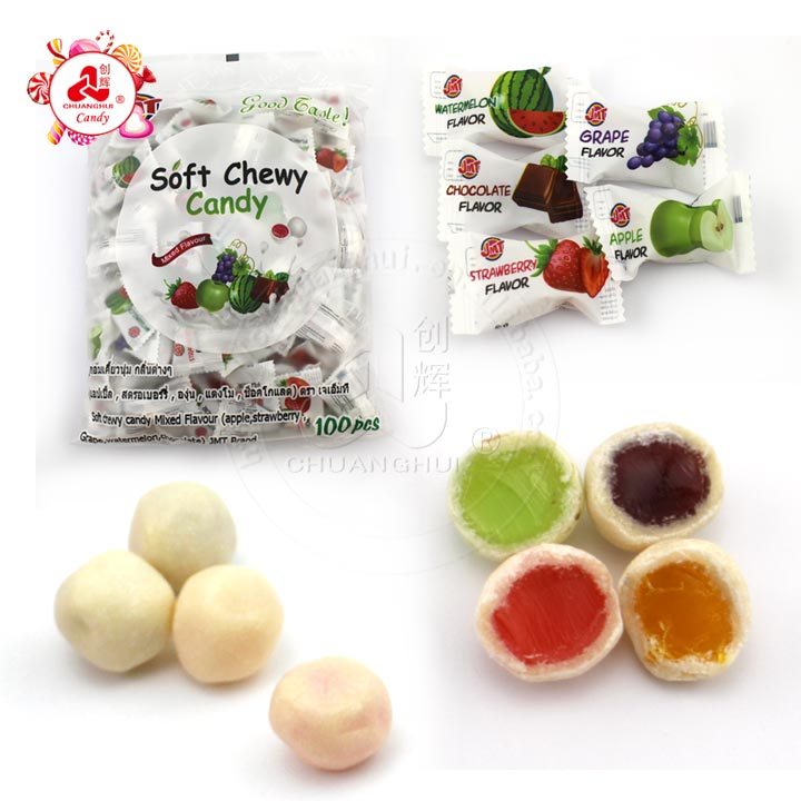 Soft Milk Chewy Candy Gummy Fruit Filled Manufacturers, Soft Milk Chewy Candy Gummy Fruit Filled Factory, Supply Soft Milk Chewy Candy Gummy Fruit Filled