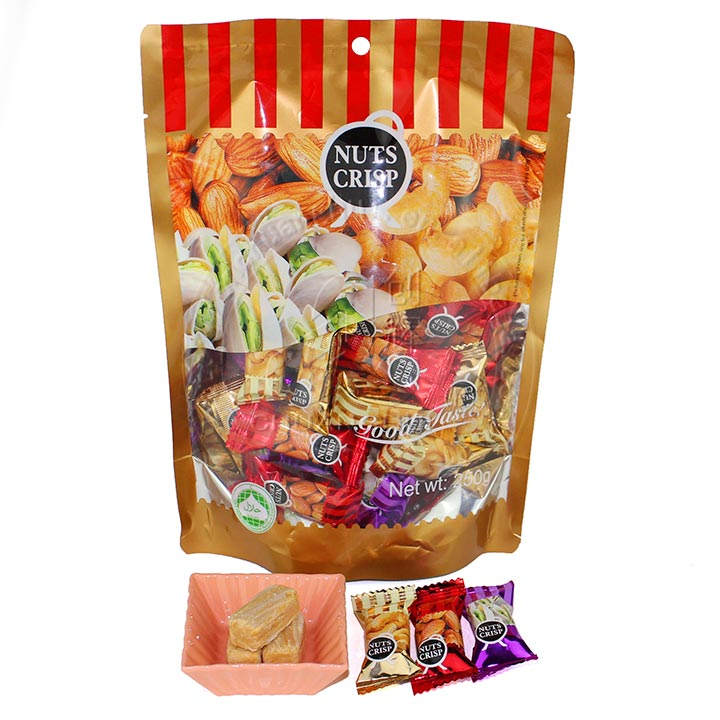 250g Nuts Crisp Peanut Candy with Cashew nut/Pistachio/Almond Flavors Manufacturers, 250g Nuts Crisp Peanut Candy with Cashew nut/Pistachio/Almond Flavors Factory, Supply 250g Nuts Crisp Peanut Candy with Cashew nut/Pistachio/Almond Flavors