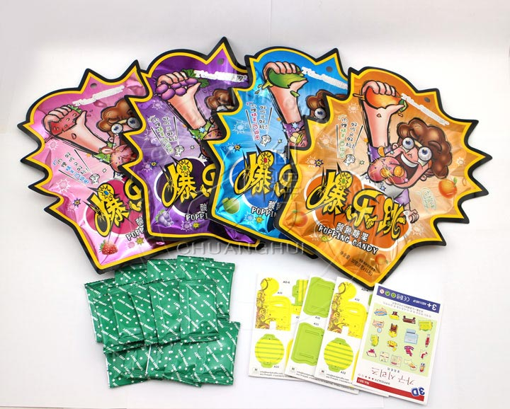 Pop Rocks popping candy with 3d puzzle card toys Manufacturers, Pop Rocks popping candy with 3d puzzle card toys Factory, Supply Pop Rocks popping candy with 3d puzzle card toys