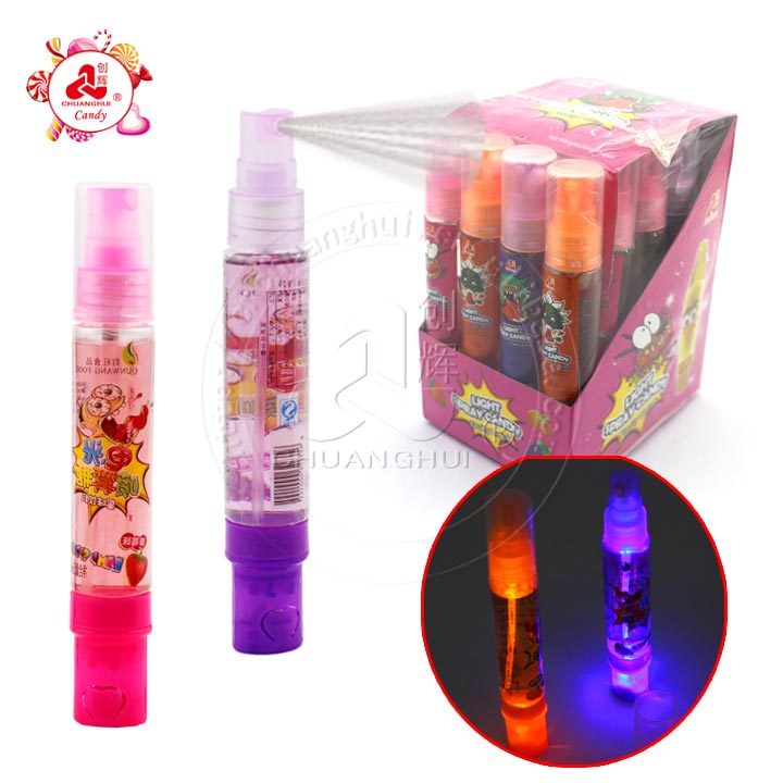Liquid Lamp Spray Candy With Light