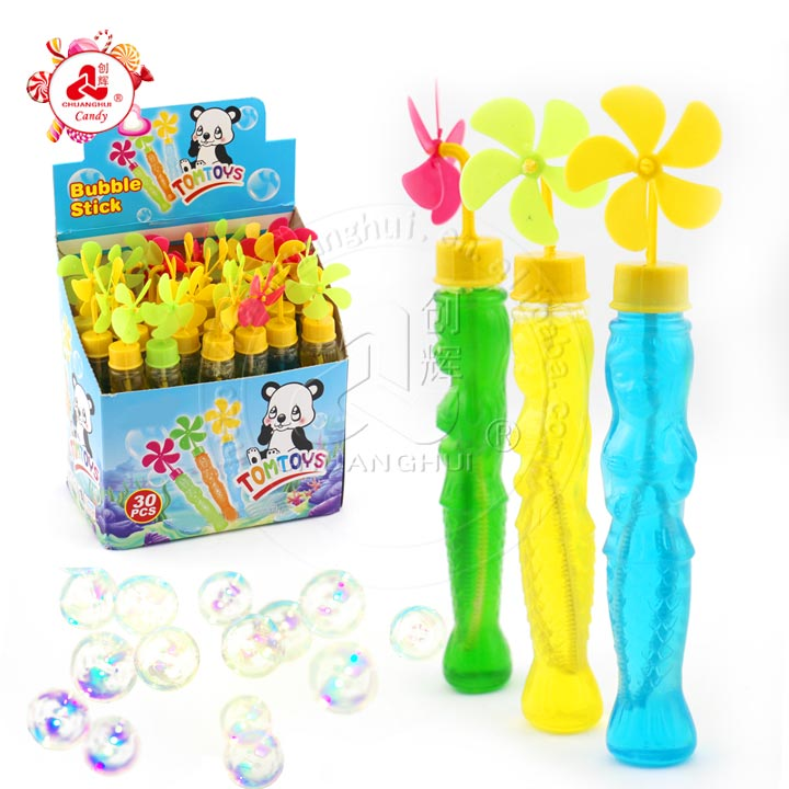 Toy 25ml Windmill Cap with Mermaid Bubble Water