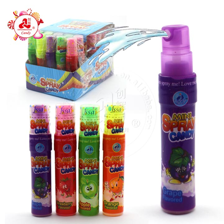 Vente chaude Inde 8 ml Mini Spray Candy
