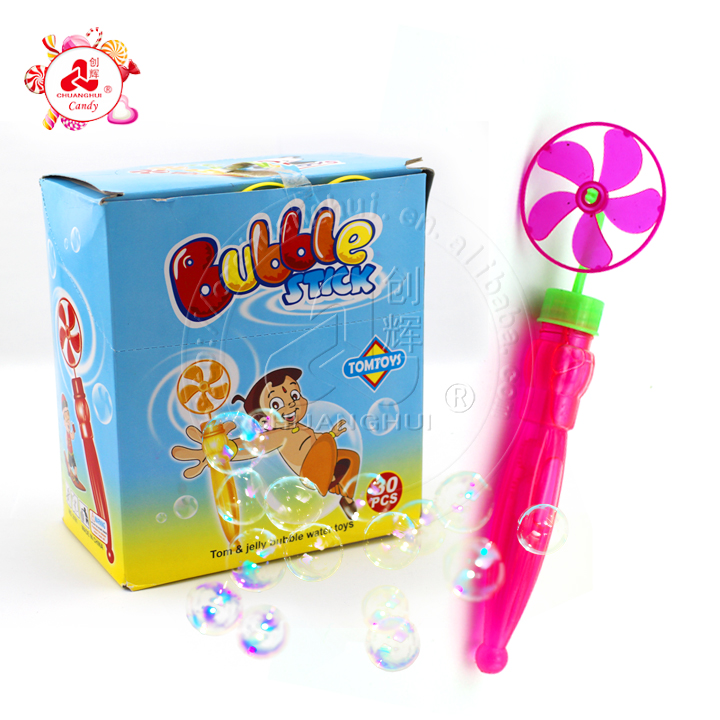 Umbrella Shape Windmill Blow Bubble Water Toy