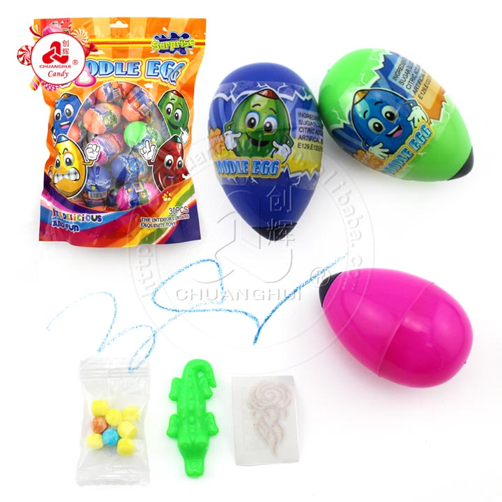 2019 Crayon Egg Surprise Candy Toy