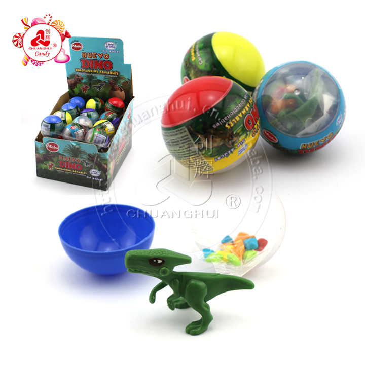 Surprise Ball Toy Candy with Assembled Toys Variety