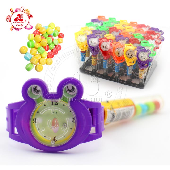 Candy Toys Fournisseur: Maze Watch Toys Candy For Kids